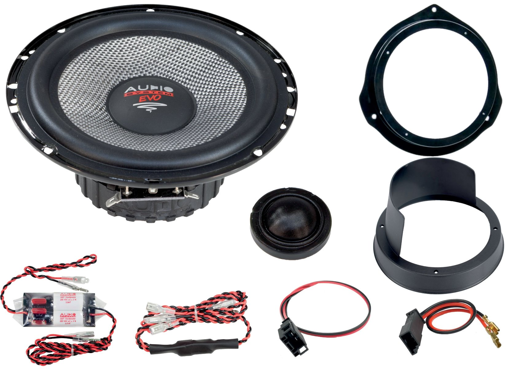 Audio System XFIT MERCEDES X-KLASSE 470 EVO 2 Lautsprecher 165 mm 2-Wege MERCEDES X-KLASSE 470 Compo System