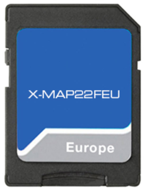 Xzent X-MAP22FEU Navigationssoftware im SD-Adapter