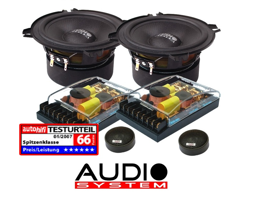 Audio System HX 130 SQ 130 mm, 2-way high-end COMPO-HX130
