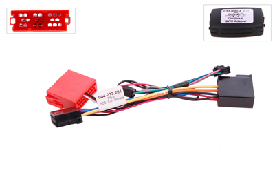 RTA 013.281-0 Steering wheel with steering wheel remote control adapters for vehicles without CAN bus controller