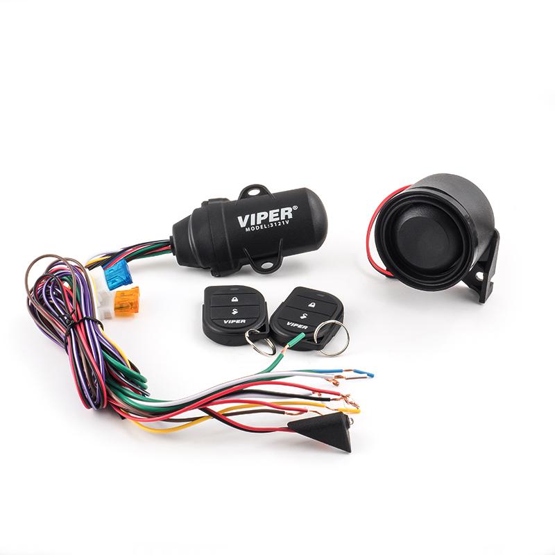 VIPER 3121V wasserdichtes Alarmsystem für Motorräder, Boote, Caravan und Freizeitmobile