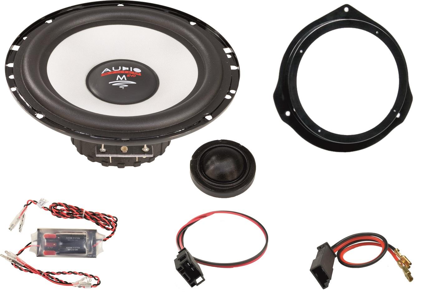 Audio System MFIT MERCEDES VITO 447 EVO 2 Lautsprecher MERCEDES VITO 16,5cm Speaker