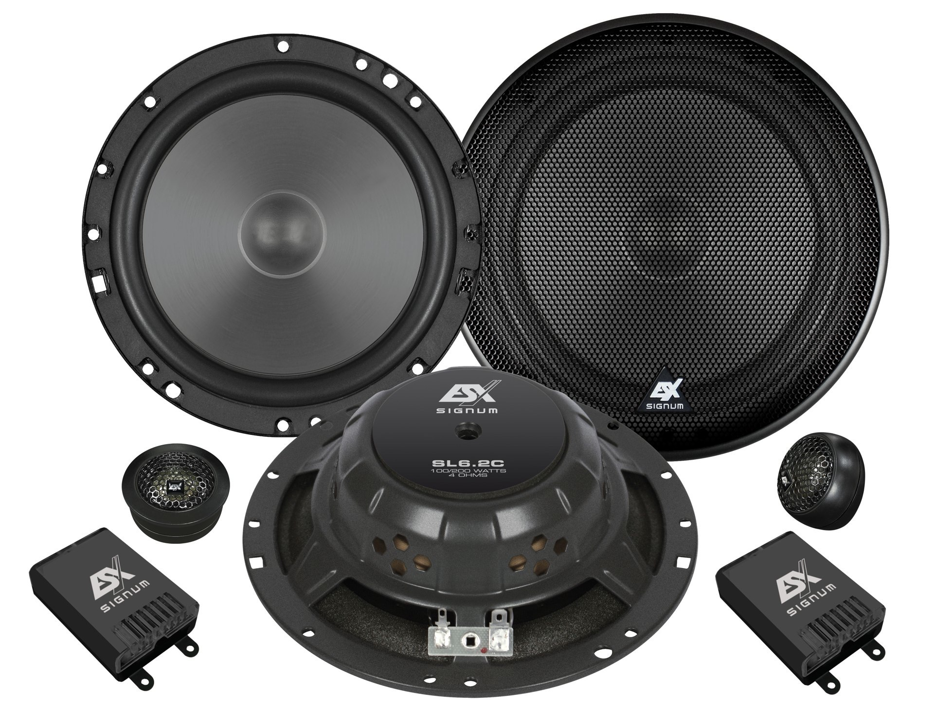ESX SL6.2C  ESX Signum Elite SL-6.2c Système 16,5 cm 2-Way 90/180 watts