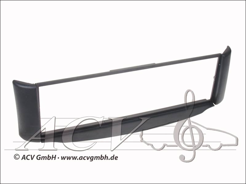Radioblende anthracite Rubber Touch Smart ForTwo