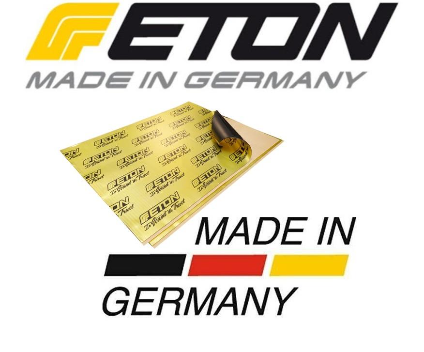 ETON NKILL-B2 Noisekill 2.2 mm Bulkpack 20 Platten 7 qm Alubutylplatten selbstklebend