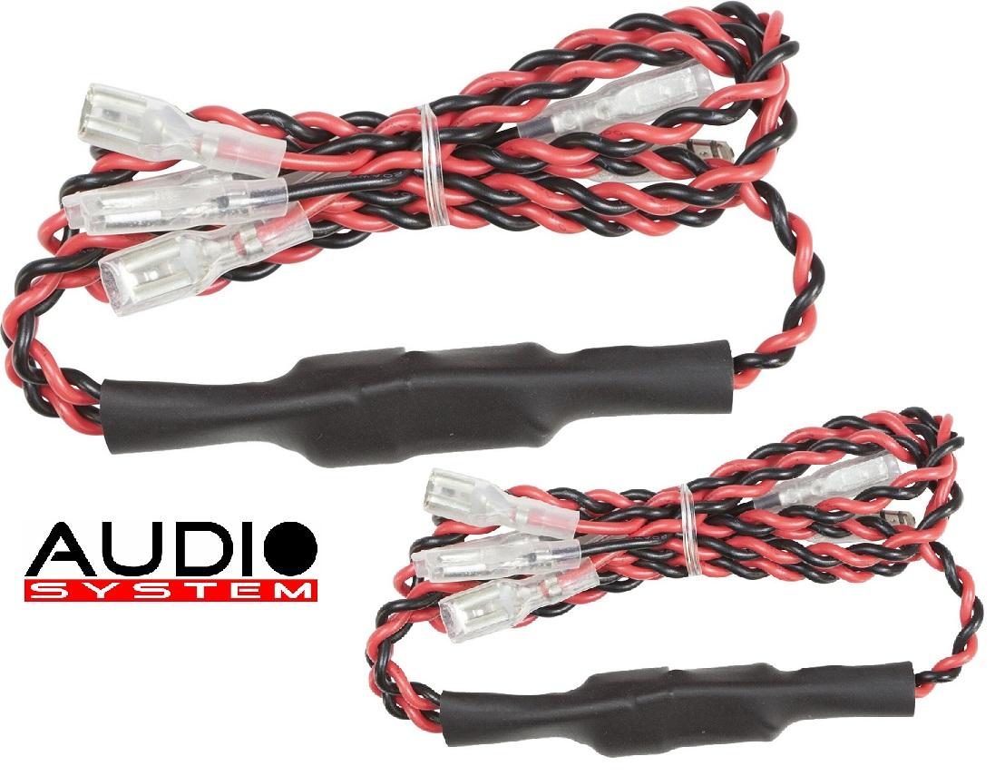 AUDIO SYSTEM FWK MW Frequenzweichen / Crossover 1 Paar (2 Stück) Kabelweiche