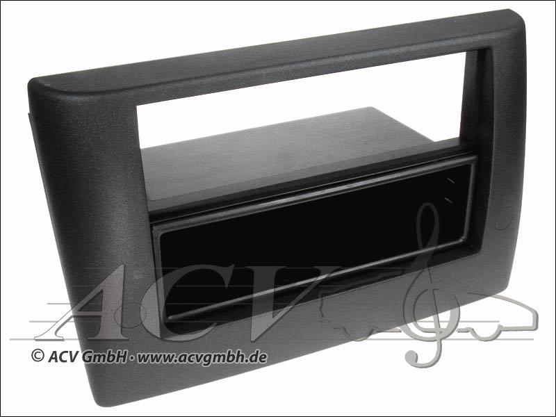 Fiat Stilo Double Radioblende ISO de couleur noire