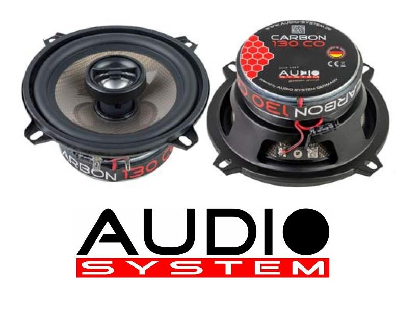 Audio System CARBON 130 CO 2-Wege 13cm Koax Lautsprecher 1 Paar
