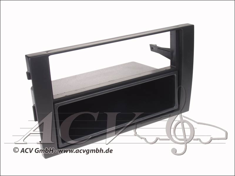 Audi A4 Double Aperture Radio ISO black