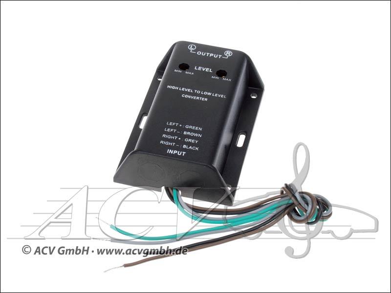 ACV 30.5000-02 Hi-Level Adapter