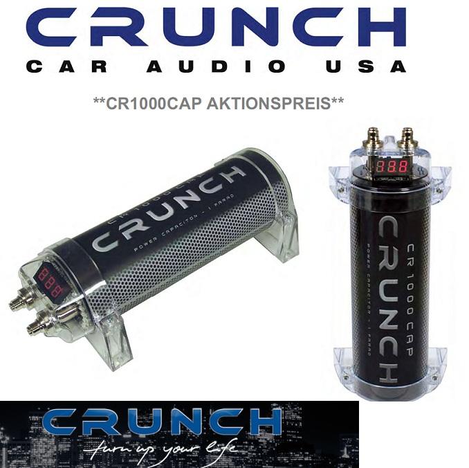 Crunch Power Cap capacitor CR1000 CR1000CAP