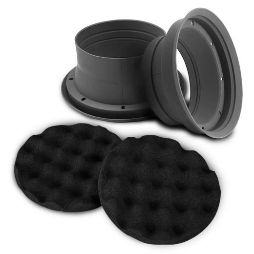 ZEALUM SPB165 Sound Improving Moisture Guard 2 Stk. Nässeschutz und 2 Stk. Pads